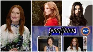 SIDEWALKS on 30a TV Interview with Julianne Moore