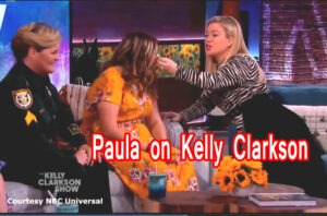 Sgt Paula Pendleton on Kelly Clarkson – message in a bottle