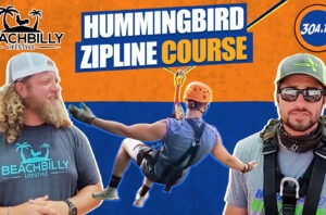 BeachBilly Lifestyle Hummingbird Zipline Course