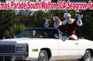 Christmas Parade South Walton 30A Seagrove Seaside