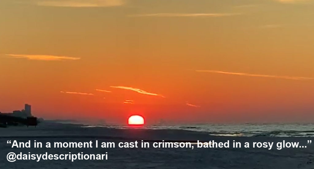 Grayton Beach –  Florida  – Words of a Sunrise