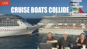 Nothing Scripted – Cruise Boats Collide