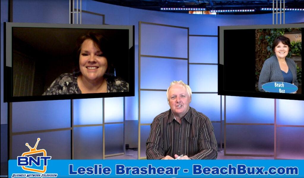 Business Network Television Leslie Brashear Beach Bux