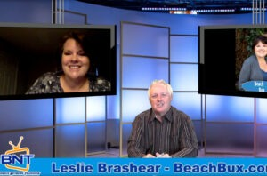 Business Network Television Leslie Brashear Beach Bux