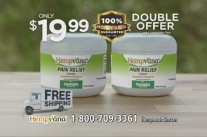 Hempvana® Cold As Ice™ Call 1-800-709-3361  COMMERCIAL