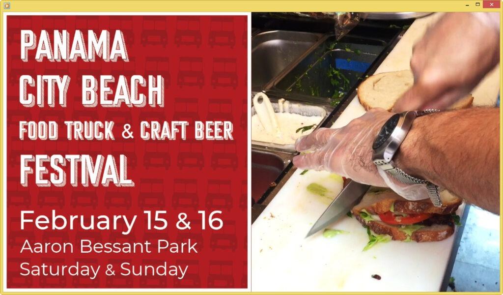 3rd Annual Panama City Beach Food Truck  Craft Beer Festival