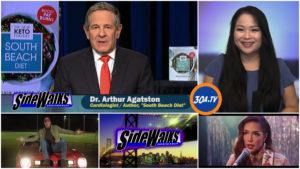 Sidewalks on 30A TV Dr Arthur Agatston South Beach Diet Author