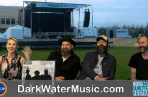 Backstage With Cortni and Dark Water members Kristian Bush Benji Shanks Brandon Bush