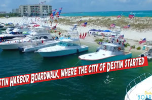 Destin Harbor Boardwalk, where the city of Destin started