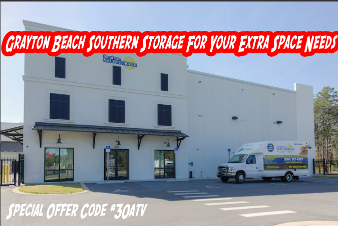 Grayton Beach Southern Storage For Your Extra Space Needs  COMMERCIAL