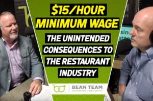 Minimum Wage – The Unintended Consequences to the Restaurant Industry