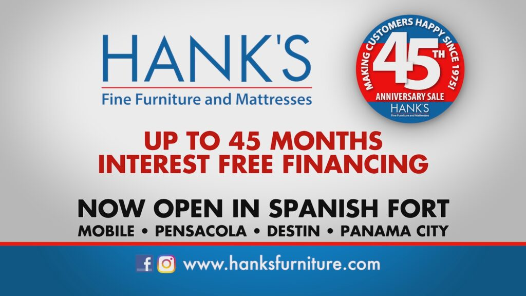 Hanks Fine Furniture 45 Anniversary Deals with Free Delivery