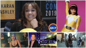Sidewalks on 30A TV Richard R. Lee interviews Power Ranger Karan Ashley