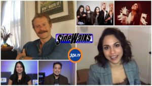 SIDEWALKS on 30A TV  Lori Rosales interviews actors James Badge Dale and Monica Raymund