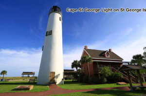 Short Trips from 30A – Cape St George Light on St George Island