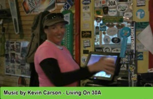 Livin on 30A Song by Songwriter Kevin Carson