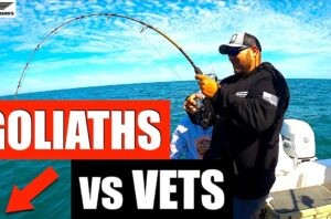 Goliath Grouper stealing veterans FISH!