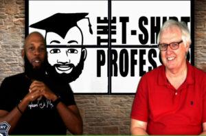 Business Network Television Kareem Saunders T Shirt Professor