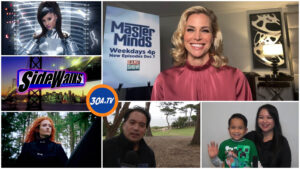 SIDEWALKS  on 30ATV Interview Brooke Burns  Baywatch Gourmet Detective