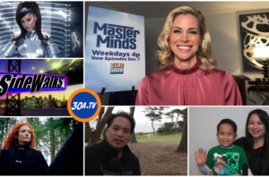 SIDEWALKS  on 30ATV Interview Brooke Burns  Baywatch Gourmet Detective