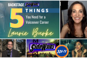 Sidewalks  on 30ATV Backstage Interview With Laurie Burke