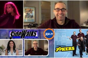 SIDEWALKS on 30ATV host Veronica Castro talks to Impractical Joker James Murray