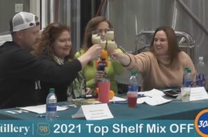 Distillery 98 Top Shelf Mixoff 2021 Replay