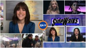 SIDEWALKS on 30ATV host Lori Rosales Interview actress Erin Krakow