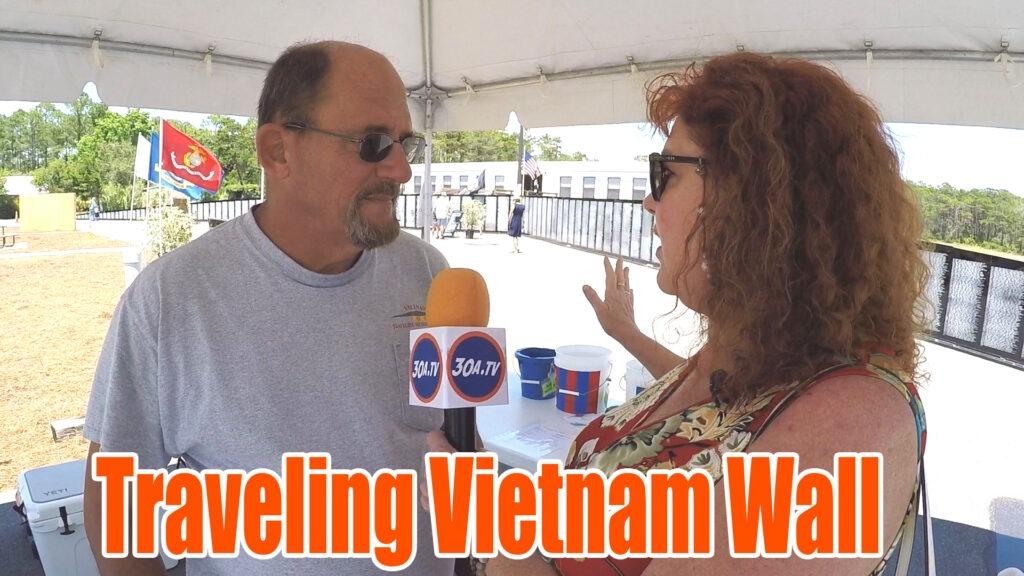 Vietnam Traveling Memorial Wall in Santa Rosa Beach