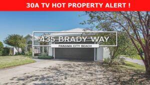 Hot Property Alert 435 Brady Way Panama City Beach  FL 32408